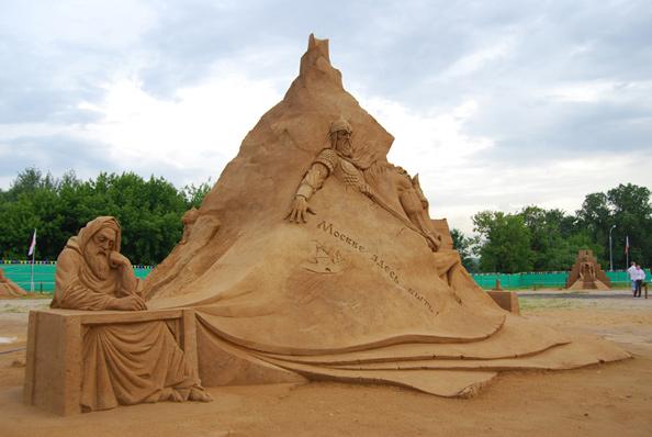 """Выставка песчаных скульптур """"Великая Римская Империя"""""""